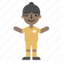 athlete, avatar, character, football, player, soccer, sport icon