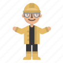 avatar, character, construction, engineer, nuclear, tool, worker