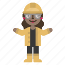 avatar, character, construction, engineer, fashion, female, nuclear