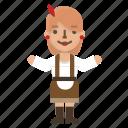 avatar, character, clothing, fashion, female, oktoberfest, woman