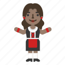 avatar, character, fashion, female, girl, oktoberfest, woman