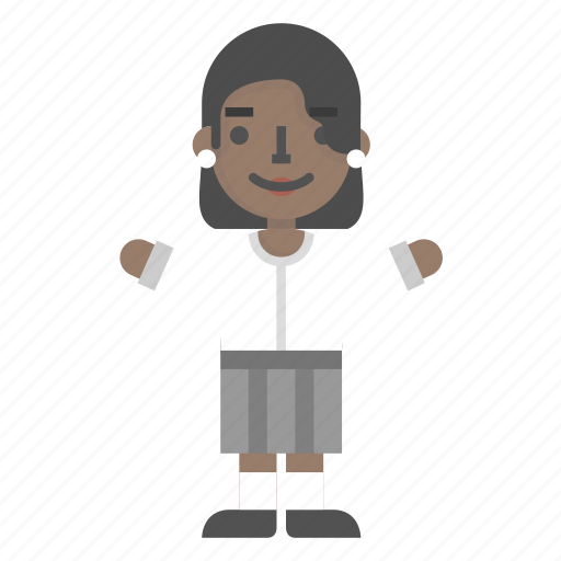 Avatar, character, education, female, girl, student, woman icon - Download on Iconfinder