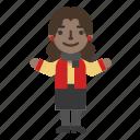 avatar, business, fashion, female, girl, profile, woman icon