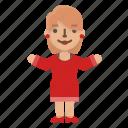 avatar, fashion, female, girl, people, profile, woman icon