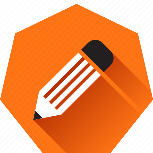 Compose, draw, edit, heptagonal, pencil, write, writing icon - Download on Iconfinder