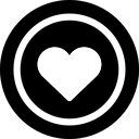 heart, like, love icon