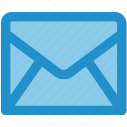 email, envelope, letter, mail, message, new, unopened icon
