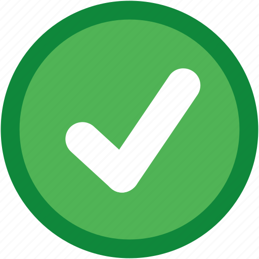 accept, approve, available, check, complete, confirm, correct, environmental, green, healthy, mark, ok, okay, tick, yes icon