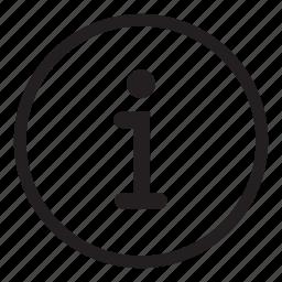 data, help, info, information, support icon