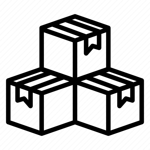 box, boxes, delivery, logistic, packages, shipping, shopping icon