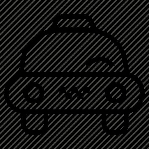 automobile, car, taxi, taxi cab icon