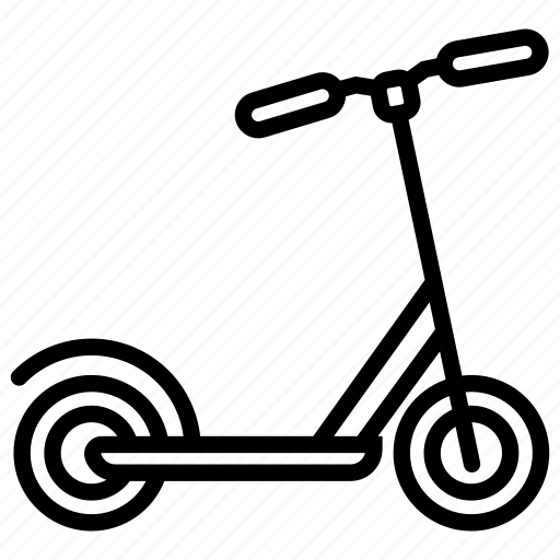 bike, cycling, electric scooter, kick scooter, kids, push scooter, scooter icon