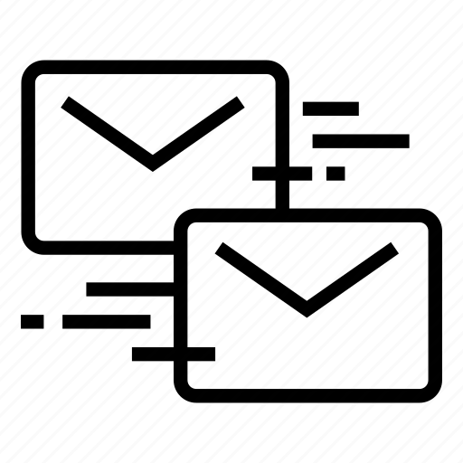 email, letter, messages, send mail icon