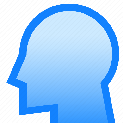 face, head, human, man, profile, user icon