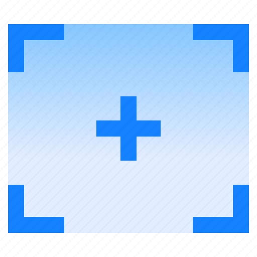 corners, frame, photo, picture, viewfinder, vizor icon