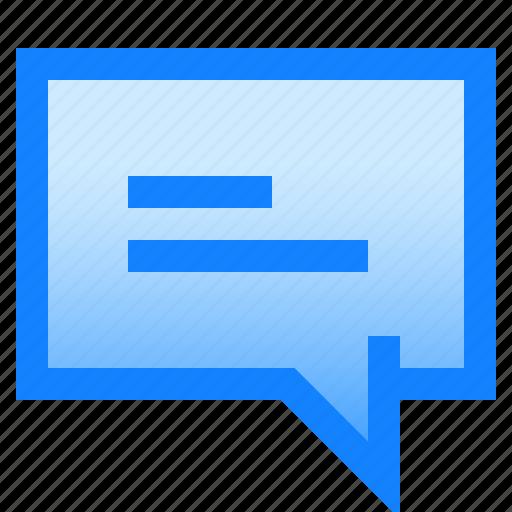 bubble, chat, conversation, message, send, text icon