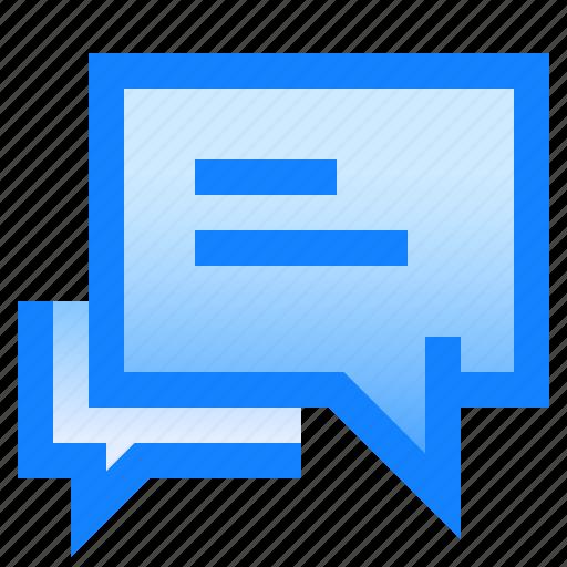 bubble, chat, conversation, forum, message, send, text icon