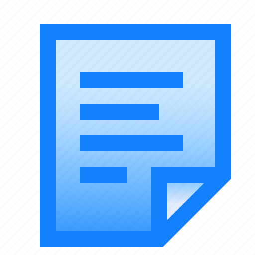 document, full, note, page, paper, text, words icon