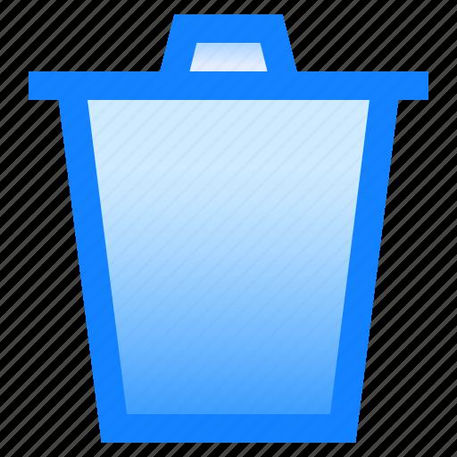 basket, bin, delete, disable, remove, trash icon