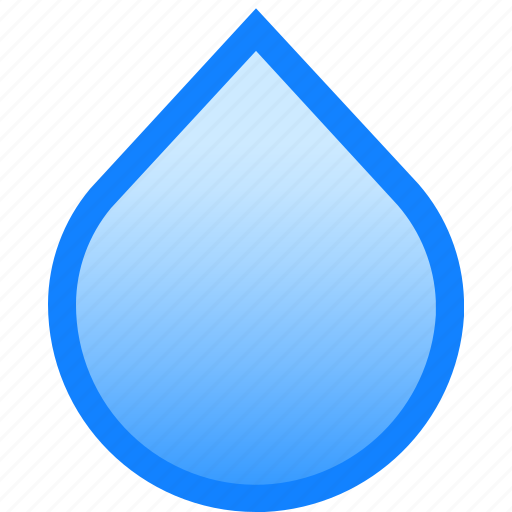 drop, droplet, liquid, splash, water, whit icon