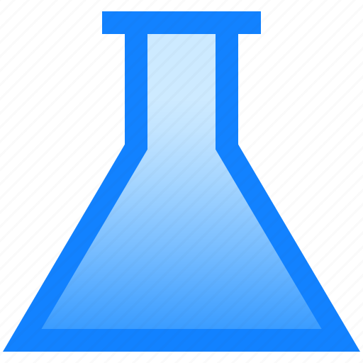 bottle, chemistry, equipment, glass, lab icon