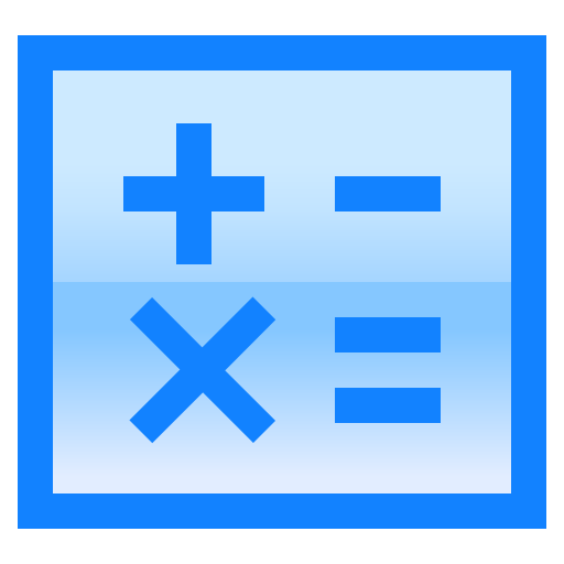 calculator, equal, math, minus, multiplication, plus icon