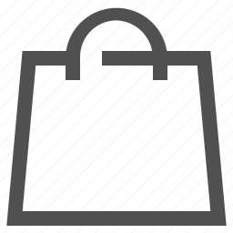 bag, cart, handles, shop, shopping, store icon