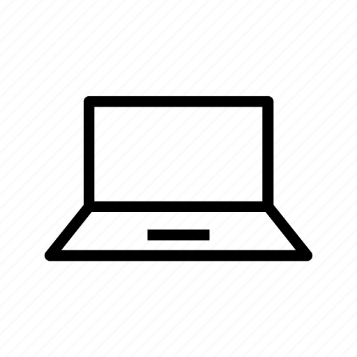 laptop, ordenador, ordinateur, portable, portatif, portátil, 휴대용 퍼스널 컴퓨터 icon