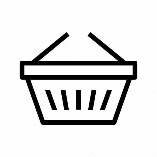 basket, cesta, compras, groceries, shopping, supermarket, supermercado icon
