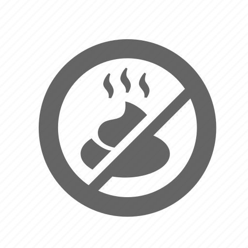 animal, ban, crap, poop, prohibition, shit, walk icon