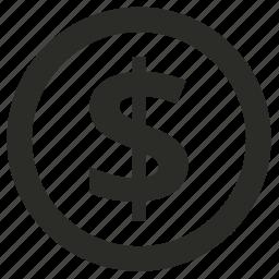 budget, internet, marketing, optimization, planning icon