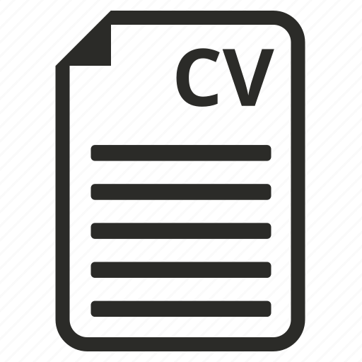 Cv Document Documents File Internet Marketing Page