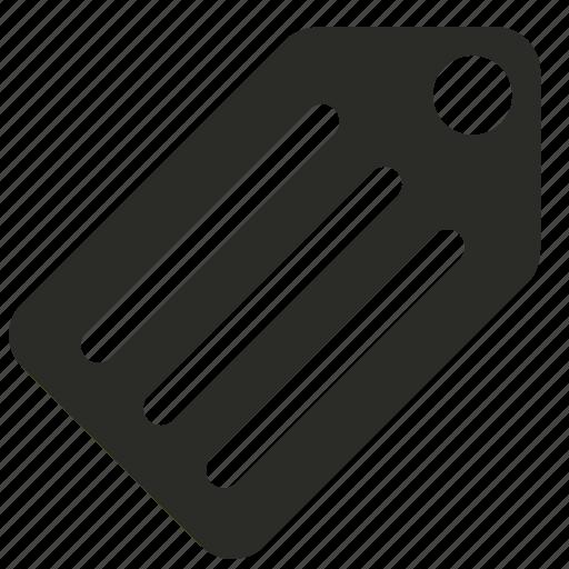 filled, internet, marketing, tag icon