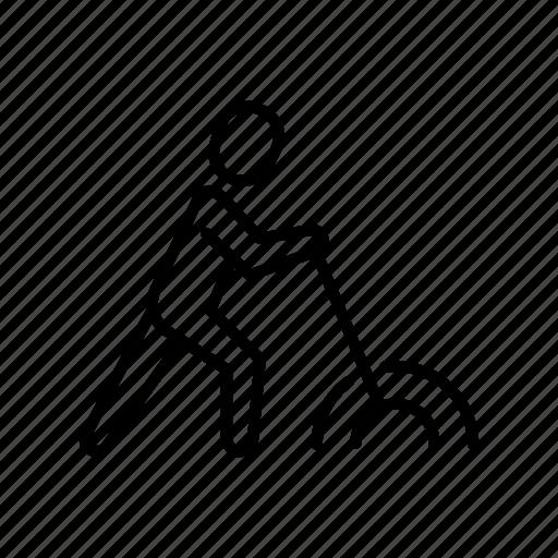 body, eurhythmics, gestures, human, moves, rail pole icon