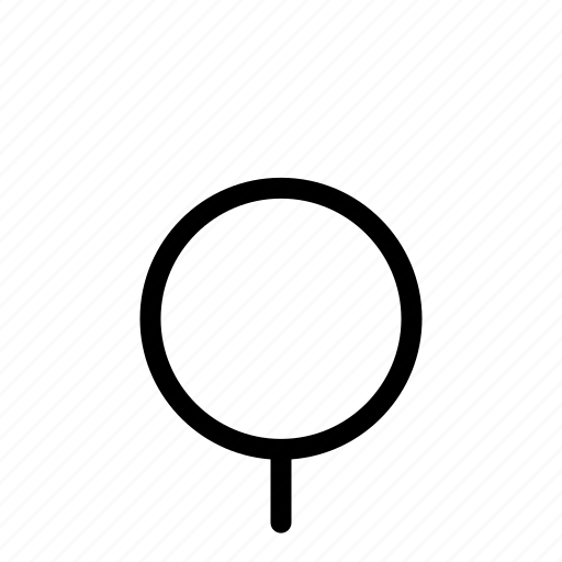 circle, tree icon