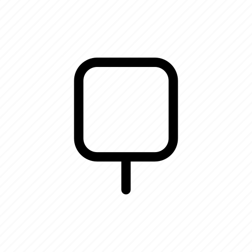 square, tree icon