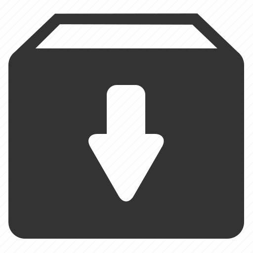 Upload, package icon