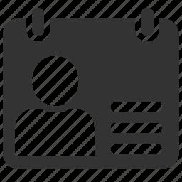 create, profile icon