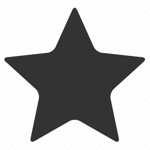 full, rate, star icon