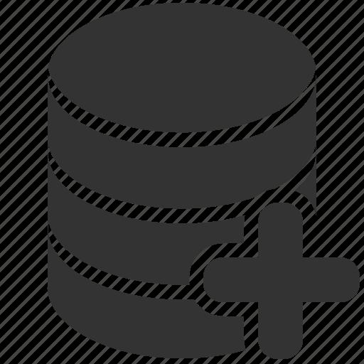 add, storage icon