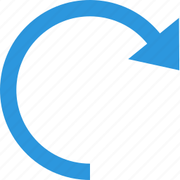 action, arrow, reload, renew, undo icon