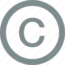 authority, copyright, licence, permission icon