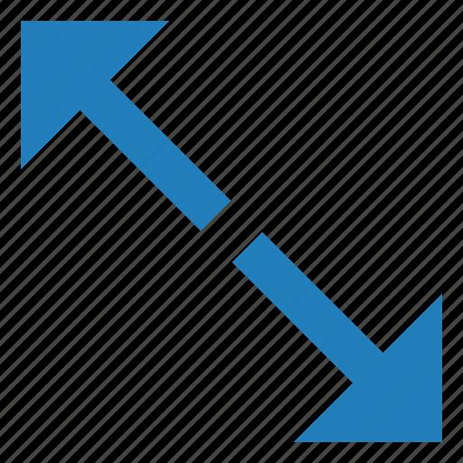 action, arrow, close, collapse, fullscreen icon