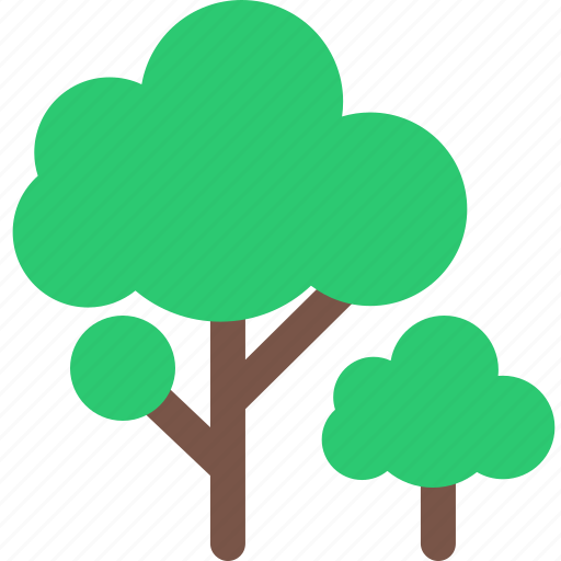 forest, garden, nature, park, plant, trees icon