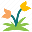 flower, grass, green, nature, park, plant, weed icon