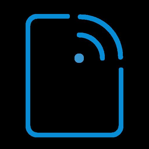 configuration, doc, document, file, list, network, wifi icon