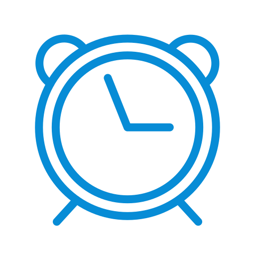 alarm, alert, clock, time, timing, watch icon