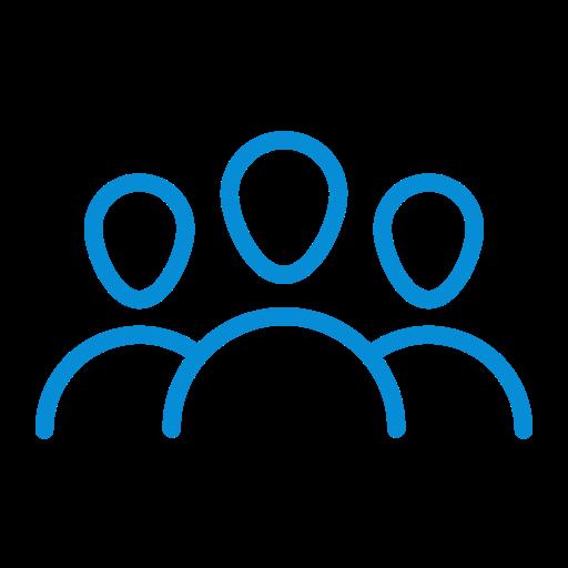company, crowd, group, people, team, teamwork icon
