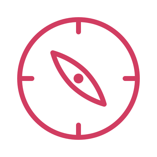 compass, direction, explore, gps, location, navigation, tracing icon