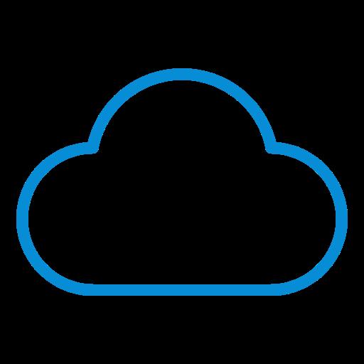 cloud, forecast, icloud, server, storage, weather icon